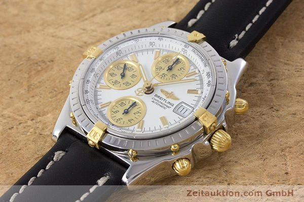 Used luxury watch Breitling Chronomat chronograph steel / gold automatic Kal. B13 ETA 7750 Ref. B13050  | 160447 01