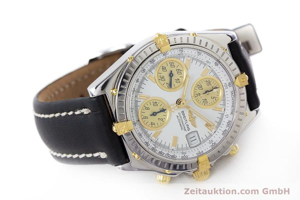 Used luxury watch Breitling Chronomat chronograph steel / gold automatic Kal. B13 ETA 7750 Ref. B13050  | 160447 03
