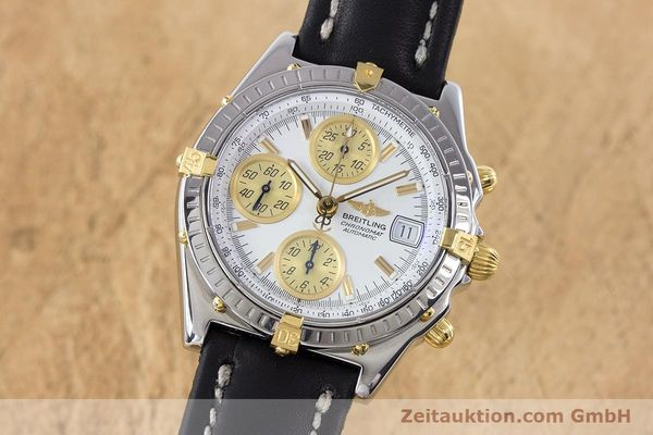 Used luxury watch Breitling Chronomat chronograph steel / gold automatic Kal. B13 ETA 7750 Ref. B13050  | 160447 04