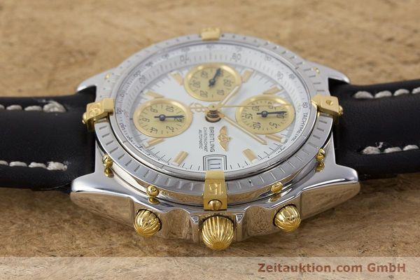 Used luxury watch Breitling Chronomat chronograph steel / gold automatic Kal. B13 ETA 7750 Ref. B13050  | 160447 05