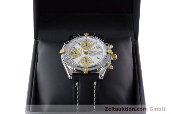 Used luxury watch Breitling Chronomat chronograph steel / gold automatic Kal. B13 ETA 7750 Ref. B13050  | 160447 07