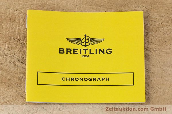 Used luxury watch Breitling Chronomat chronograph steel / gold automatic Kal. B13 ETA 7750 Ref. B13050  | 160447 12