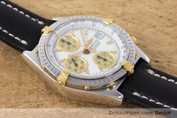 Used luxury watch Breitling Chronomat chronograph steel / gold automatic Kal. B13 ETA 7750 Ref. B13050  | 160447 14