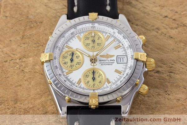 Used luxury watch Breitling Chronomat chronograph steel / gold automatic Kal. B13 ETA 7750 Ref. B13050  | 160447 15