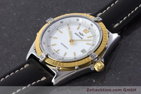 Used luxury watch Breitling Antares steel / gold automatic Kal. ETA 2892-2 Ref. 81970  | 160449 01