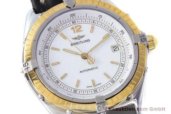 Used luxury watch Breitling Antares steel / gold automatic Kal. ETA 2892-2 Ref. 81970  | 160449 02