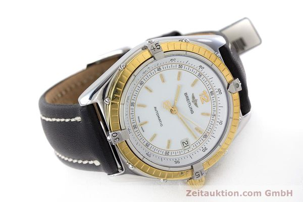 Used luxury watch Breitling Antares steel / gold automatic Kal. ETA 2892-2 Ref. 81970  | 160449 03