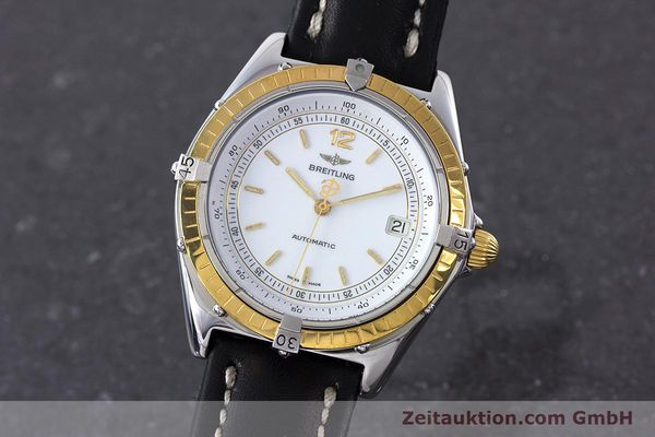 Used luxury watch Breitling Antares steel / gold automatic Kal. ETA 2892-2 Ref. 81970  | 160449 04