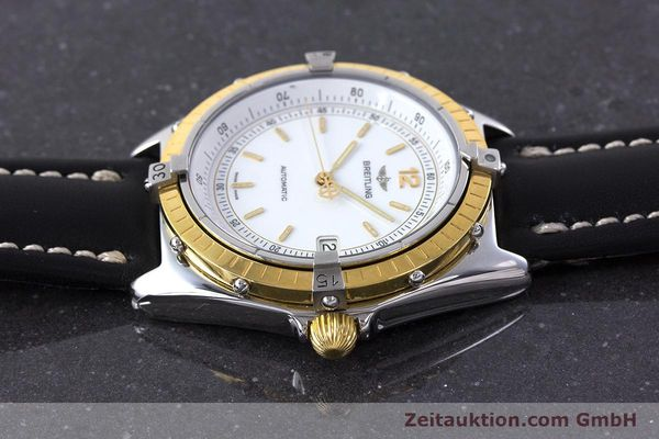 Used luxury watch Breitling Antares steel / gold automatic Kal. ETA 2892-2 Ref. 81970  | 160449 05
