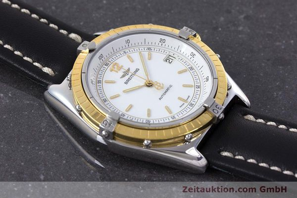 Used luxury watch Breitling Antares steel / gold automatic Kal. ETA 2892-2 Ref. 81970  | 160449 12