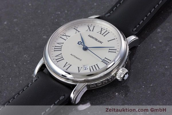 Used luxury watch Montblanc Meisterstück steel automatic Kal. 4810401 ETA 2892A2 Ref. 7042  | 160451 01