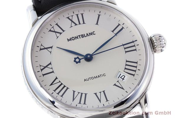 Used luxury watch Montblanc Meisterstück steel automatic Kal. 4810401 ETA 2892A2 Ref. 7042  | 160451 02