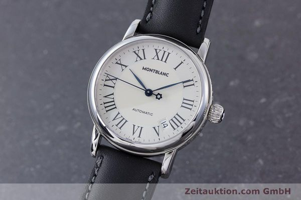 Used luxury watch Montblanc Meisterstück steel automatic Kal. 4810401 ETA 2892A2 Ref. 7042  | 160451 04