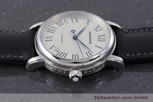 Used luxury watch Montblanc Meisterstück steel automatic Kal. 4810401 ETA 2892A2 Ref. 7042  | 160451 05