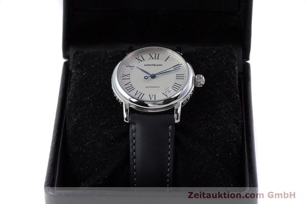 Used luxury watch Montblanc Meisterstück steel automatic Kal. 4810401 ETA 2892A2 Ref. 7042  | 160451 07