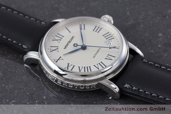Used luxury watch Montblanc Meisterstück steel automatic Kal. 4810401 ETA 2892A2 Ref. 7042  | 160451 14