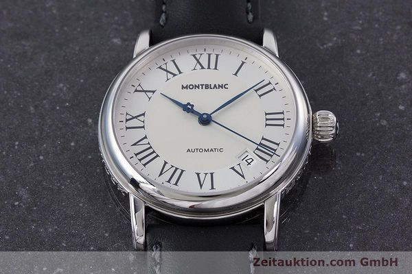 Used luxury watch Montblanc Meisterstück steel automatic Kal. 4810401 ETA 2892A2 Ref. 7042  | 160451 15