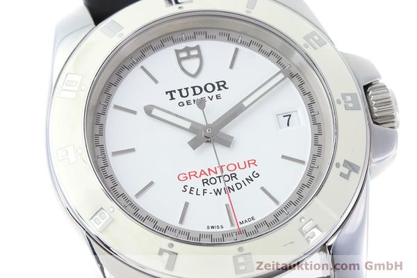 Used luxury watch Tudor Grantour steel automatic Kal. ETA 2824-2 Ref. 20050  | 160454 02