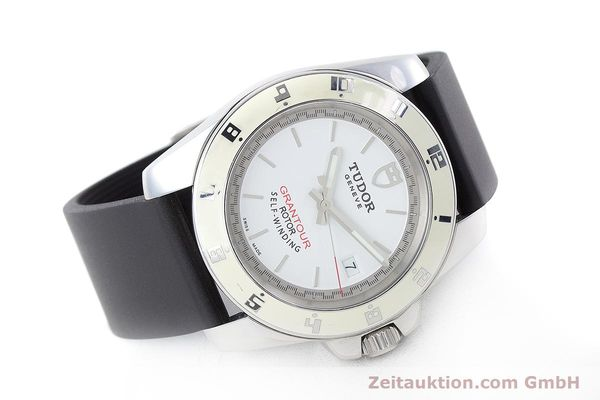 Used luxury watch Tudor Grantour steel automatic Kal. ETA 2824-2 Ref. 20050  | 160454 03