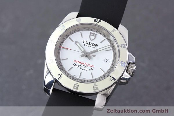 Used luxury watch Tudor Grantour steel automatic Kal. ETA 2824-2 Ref. 20050  | 160454 04