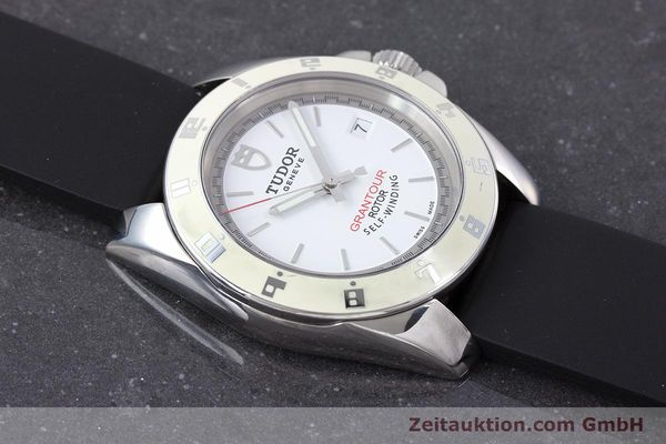 Used luxury watch Tudor Grantour steel automatic Kal. ETA 2824-2 Ref. 20050  | 160454 15