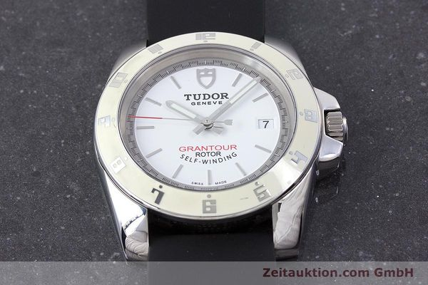 Used luxury watch Tudor Grantour steel automatic Kal. ETA 2824-2 Ref. 20050  | 160454 16