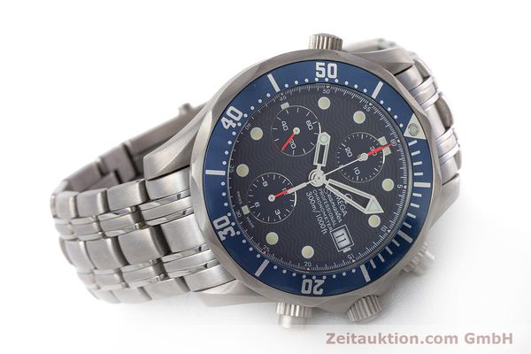 Used luxury watch Omega Seamaster chronograph titanium automatic Kal. 1154 ETA 7750  | 160460 03