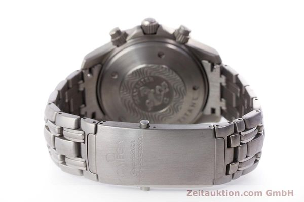 Used luxury watch Omega Seamaster chronograph titanium automatic Kal. 1154 ETA 7750  | 160460 13