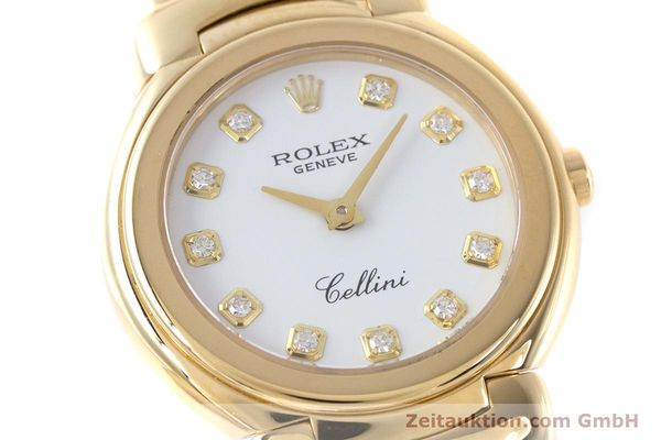 Used luxury watch Rolex Cellini 18 ct gold quartz Kal. 6620 Ref. 6621  | 160470 02