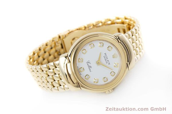 Used luxury watch Rolex Cellini 18 ct gold quartz Kal. 6620 Ref. 6621  | 160470 03