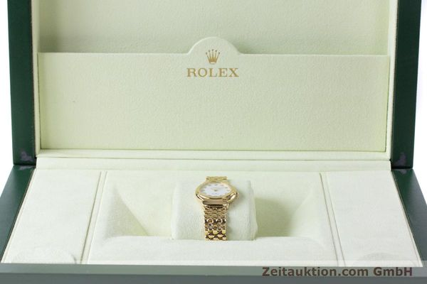 Used luxury watch Rolex Cellini 18 ct gold quartz Kal. 6620 Ref. 6621  | 160470 07