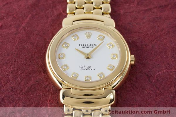 Used luxury watch Rolex Cellini 18 ct gold quartz Kal. 6620 Ref. 6621  | 160470 17