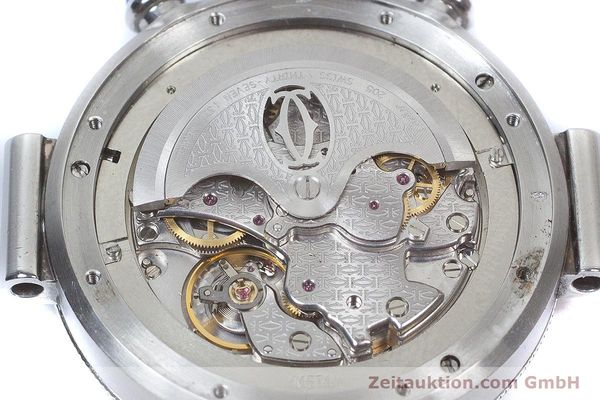 Used luxury watch Cartier Pasha chronograph steel automatic Kal. 205 Ref. 2113  | 160471 10