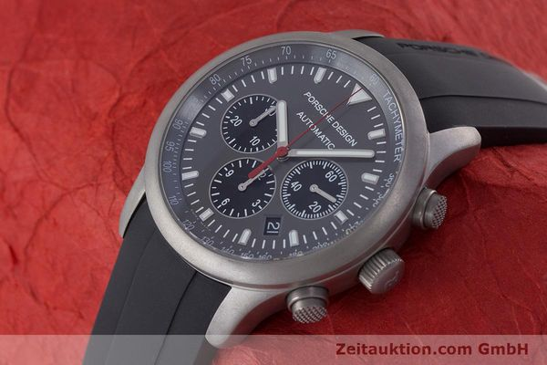 Used luxury watch Porsche Design Dashbord chronograph titanium automatic Kal. ETA 2894-2 Ref. 6612.10/1  | 160473 01