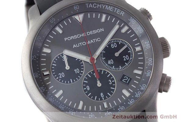 Used luxury watch Porsche Design Dashbord chronograph titanium automatic Kal. ETA 2894-2 Ref. 6612.10/1  | 160473 02