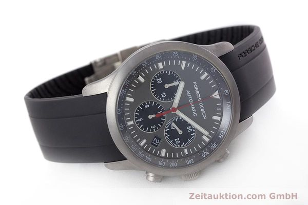 Used luxury watch Porsche Design Dashbord chronograph titanium automatic Kal. ETA 2894-2 Ref. 6612.10/1  | 160473 03