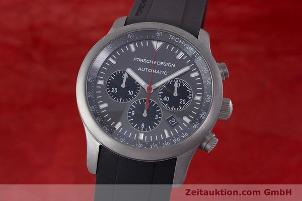 Used luxury watch Porsche Design Dashbord chronograph titanium automatic Kal. ETA 2894-2 Ref. 6612.10/1  | 160473 04