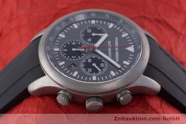 Used luxury watch Porsche Design Dashbord chronograph titanium automatic Kal. ETA 2894-2 Ref. 6612.10/1  | 160473 05