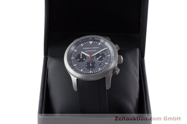 Used luxury watch Porsche Design Dashbord chronograph titanium automatic Kal. ETA 2894-2 Ref. 6612.10/1  | 160473 07