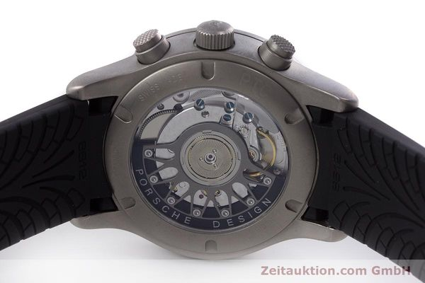 Used luxury watch Porsche Design Dashbord chronograph titanium automatic Kal. ETA 2894-2 Ref. 6612.10/1  | 160473 09