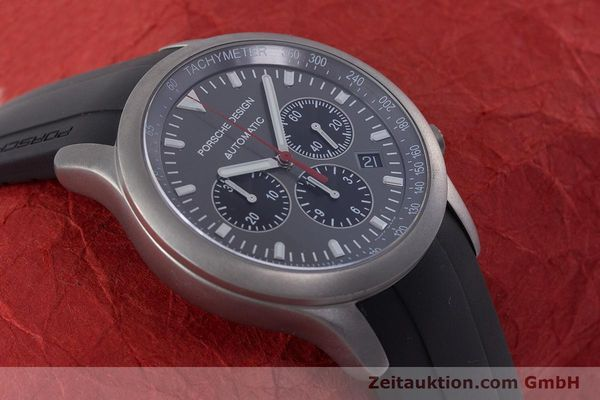 Used luxury watch Porsche Design Dashbord chronograph titanium automatic Kal. ETA 2894-2 Ref. 6612.10/1  | 160473 14