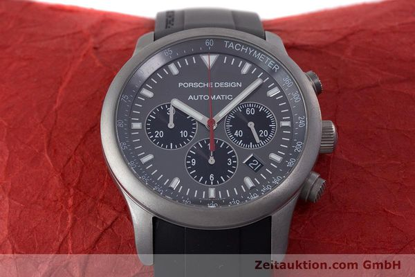 Used luxury watch Porsche Design Dashbord chronograph titanium automatic Kal. ETA 2894-2 Ref. 6612.10/1  | 160473 15