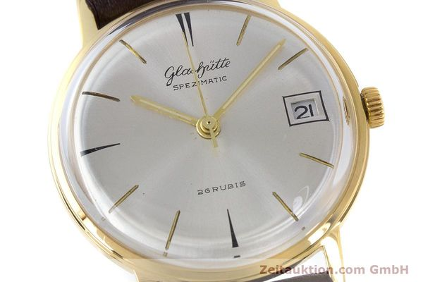 Used luxury watch Glashütte Spezimatic gold-plated automatic Kal. 75 VINTAGE  | 160475 02