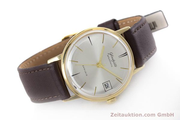 Used luxury watch Glashütte Spezimatic gold-plated automatic Kal. 75 VINTAGE  | 160475 03