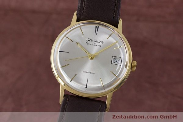 Used luxury watch Glashütte Spezimatic gold-plated automatic Kal. 75 VINTAGE  | 160475 04