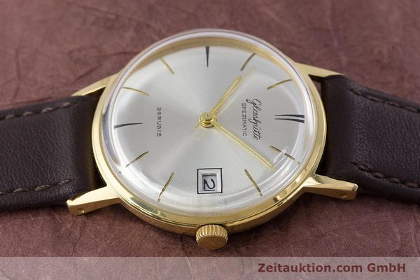 Used luxury watch Glashütte Spezimatic gold-plated automatic Kal. 75 VINTAGE  | 160475 05