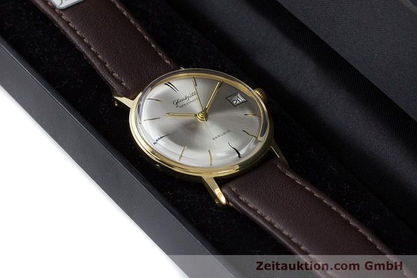 Used luxury watch Glashütte Spezimatic gold-plated automatic Kal. 75 VINTAGE  | 160475 07