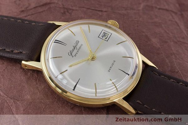 Used luxury watch Glashütte Spezimatic gold-plated automatic Kal. 75 VINTAGE  | 160475 12