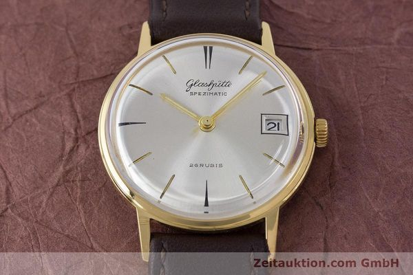 Used luxury watch Glashütte Spezimatic gold-plated automatic Kal. 75 VINTAGE  | 160475 13