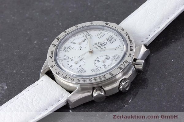 Used luxury watch Omega Speedmaster chronograph steel automatic Kal. 3220A  | 160477 01